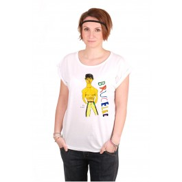 Bruce Lee: Girl Shirt // Fashion