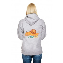 Lazy Lion: Girl Hoodie
