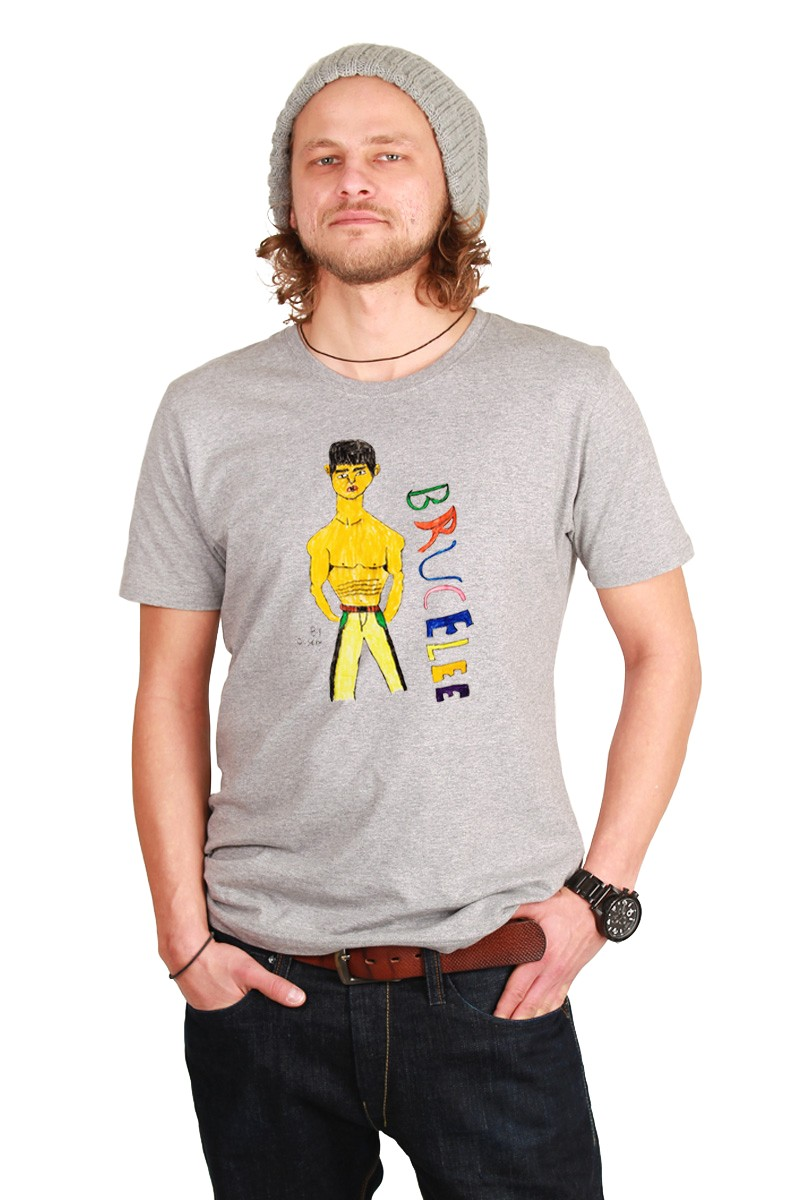 Bruce Lee: Men Shirt // Organic
