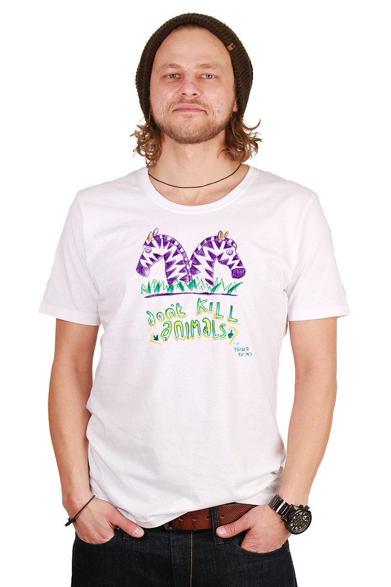 Dont-kill-animals: Men Shirt // Organic