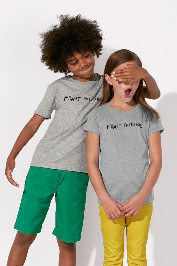 FIGHT PATRIARCHY: Kids Shirt // Organic