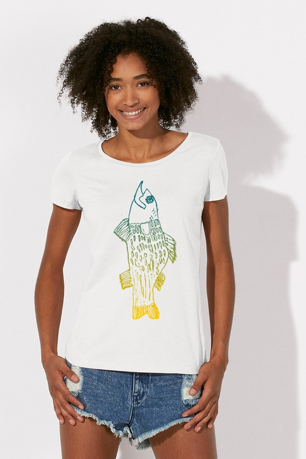 FISCH: Girl Shirt // Organic