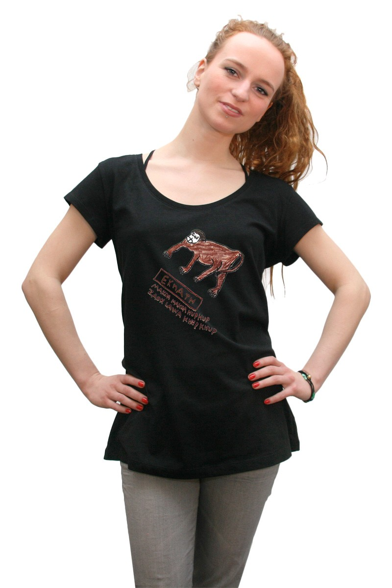 Monkey: Girl Shirt // Organic