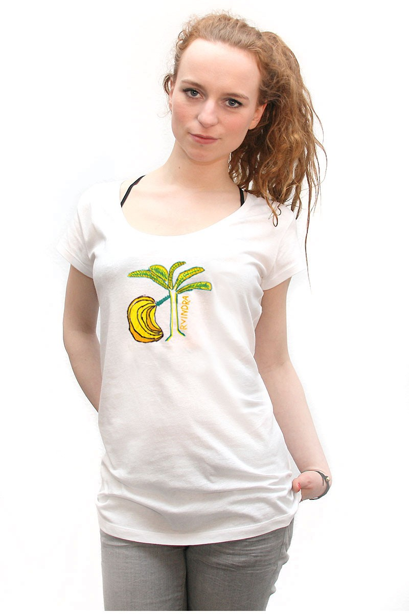 Banana: Girl Shirt // Organic