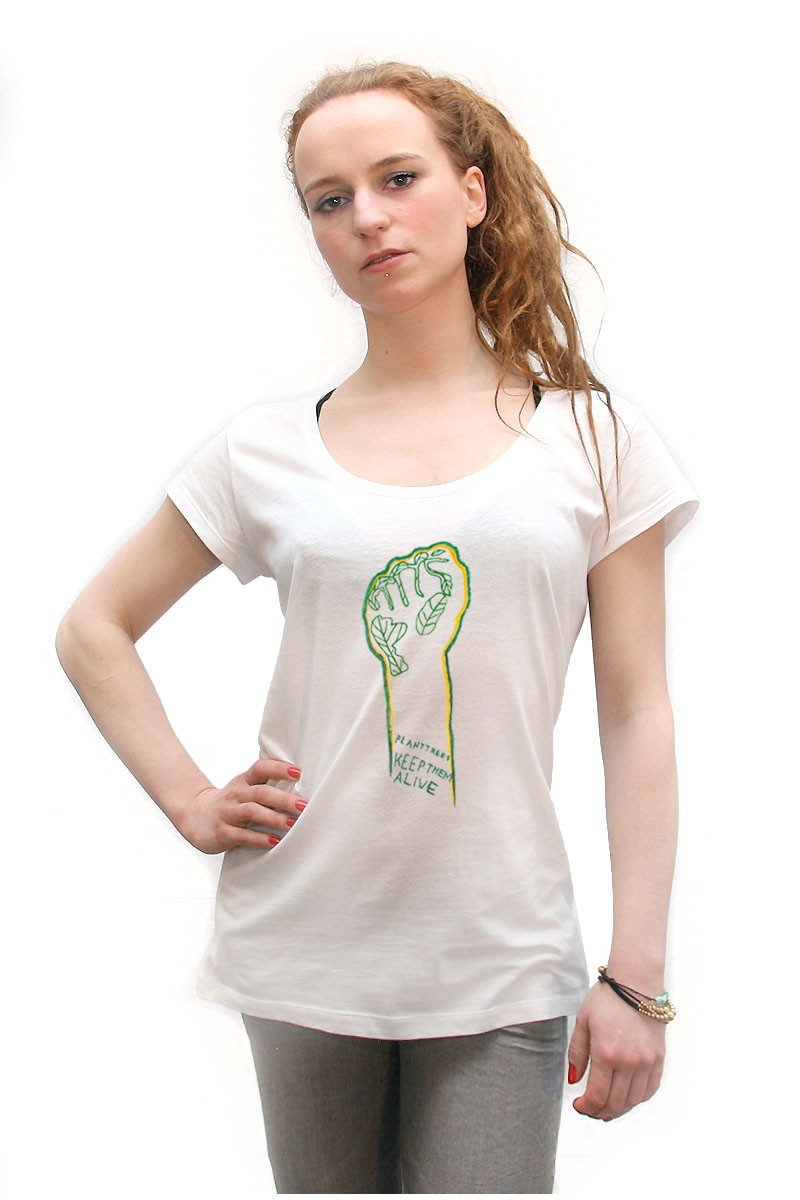 Eco-Fist: Girl Shirt // Organic