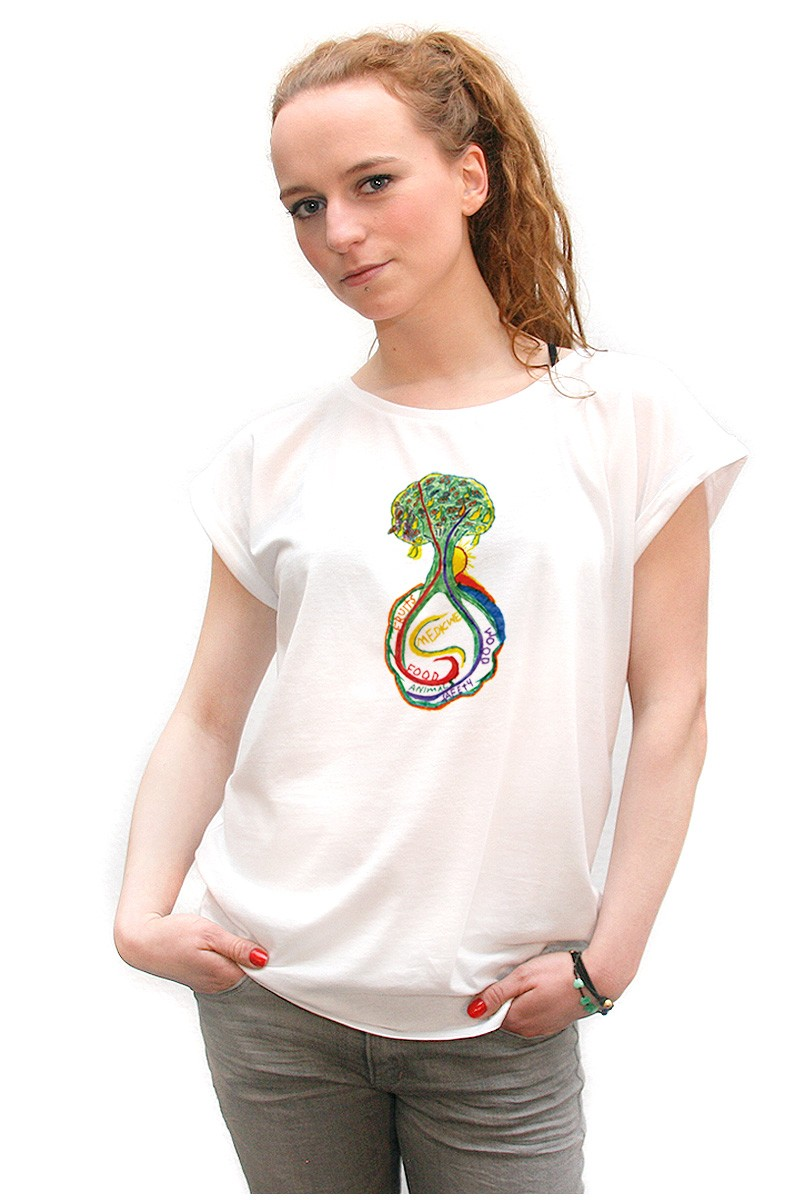 Psychedelic-Tree: Girl Shirt // Fashion