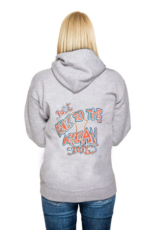 Just peace: Girl Hoodie