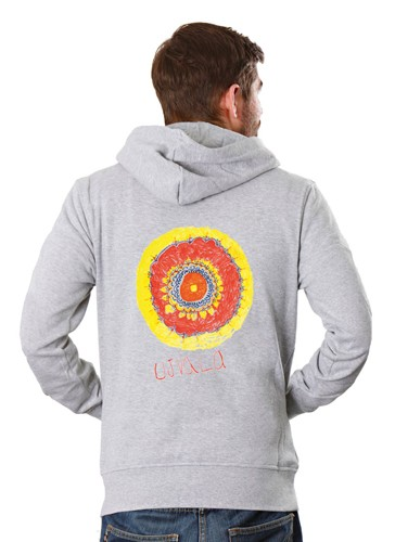 Indian Sun: Men Hoodie